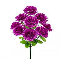Букет Розы Флорибунда с добавками 52см (№962)