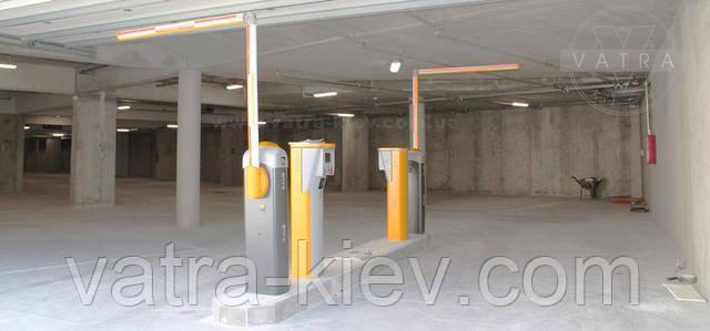 Шлагбаум для паркинга с ломающейся стрелой
