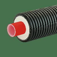 Пластиковая труба в изоляции AustroPUR single 63