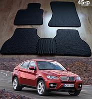 Коврики на BMW X6 E71 '08-14. Автоковрики EVA