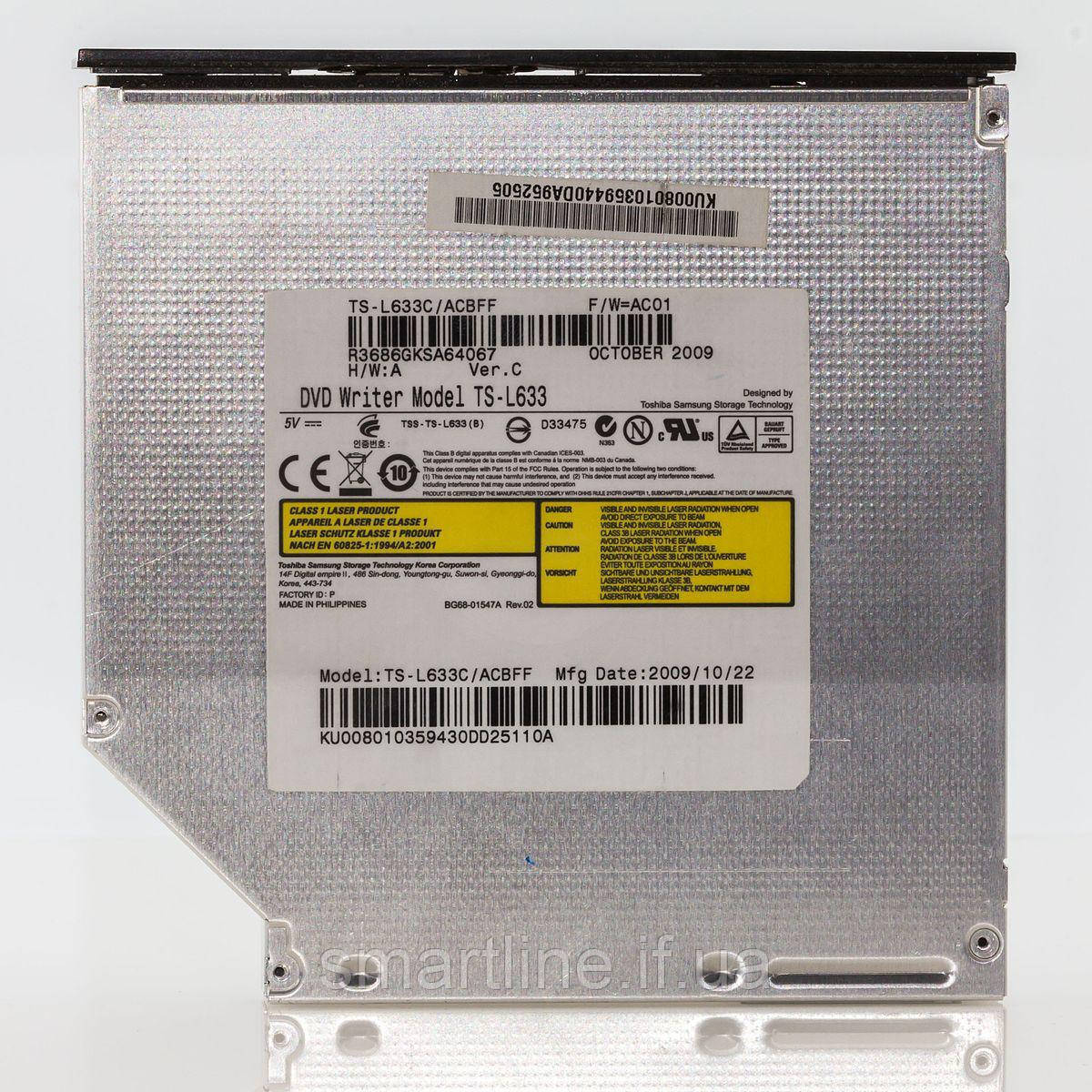Toshiba DVD R/RW Drive TS-H552 Samsung D33475 B 8.5GB 6GGXC03134 GA02