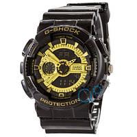 Часы Casio G-Shock GA-110 G Black-Gold