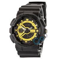 Часы Casio G-Shock GA-110 G Mate Black-Gold