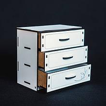 Кукольная мебель BigEcoToys Комод