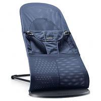 Детское кресло-шезлонг BabyBjorn Balance для детей весом до 13 кг ТМ BabyBjorn Темно-синий 6015