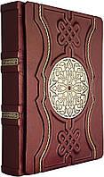 """Книга в кожаном переплете """"Велика книга мудрості.  Афоризми та крилаті вислови"""", фото 1"""