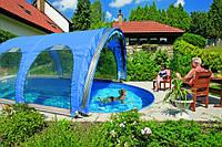 Мобильные быстровозводимые павильоны для бассейнов
