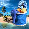 Складное ведро 11L синие Распродажа!, фото 2