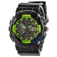 Часы Casio Baby G GA-110 G Black-Green