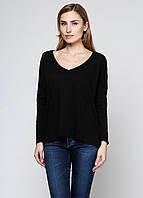 Реглан женский ZARA цвет черный размер S арт 4174/303/800