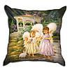 Декоративная подушка Ангелочки 40х40см