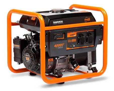 Генератор бензиновый инверторный Daewoo GDA 4800i (4кВт), фото 2