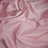 Ткань сатин светло розовый.