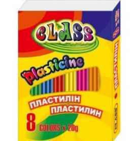 Пластилін Class 8 колборів,160 грам, 7622