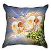 Декоративная подушка Ангелы Хранители 40х40см