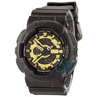 Часы Casio Baby G GA-110 G Mate-Black-Gold