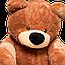 Большй  медведь Алина Бублик 200 см коричневый, фото 2