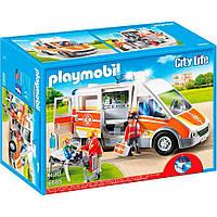 Playmobil Машина швидкої допомоги зі світлом і звуком (6685)