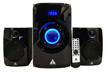Колонки Golden Field LA165C Black 15W+2*11.5W MP3 player + FM