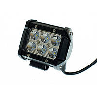 Светодиодная фара AllLight C-18W 6chip CREE 9-30V нижний крепеж, фото 1