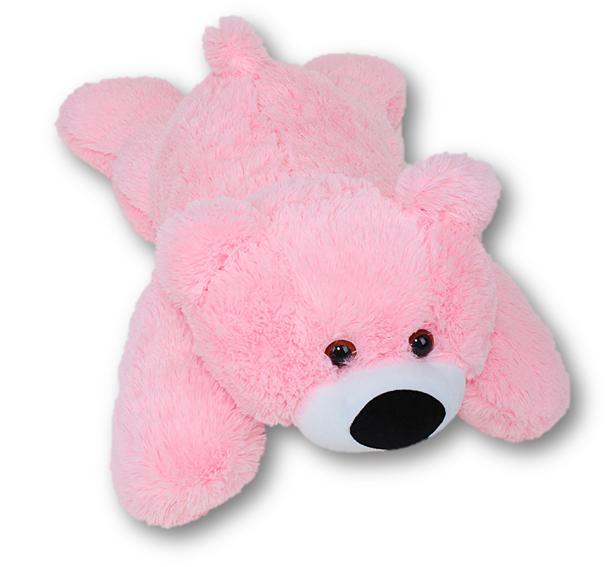 Плюшевый Мишка Умка 70 см розовый