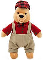 Мягкая игрушка мягкий медведь медвежонок мишка Винни Пух праздничный 40 см Дисней/Disney