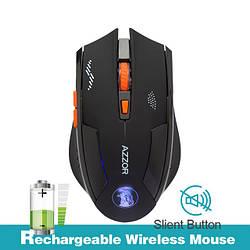 Беспроводная лазерная аккумуляторная игровая мышь Azzor