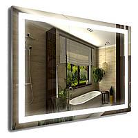 Зеркало в алюминиевой раме (600х800мм)