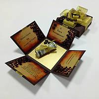 "Коробочка для грошей або подарунку ""КАВА"", фото 1"