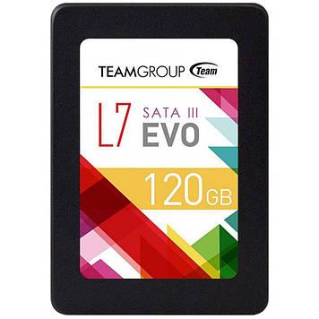 """Жесткий диск 120GB SSD Team (T253L7120GTC101) SATA III, 2.5"""""""