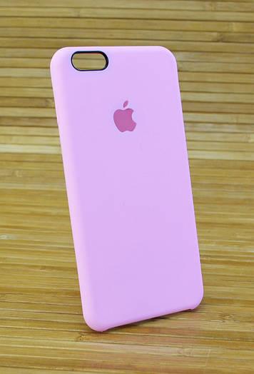 Силиконовый чехол на Айфон, iPhone 6+ \ 6 Plus ORIGINAL ELITE COPY розовый