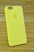 Силиконовый чехол на iPhone 6+ \ 6 Plus ORIGINAL ELITE COPY желтый
