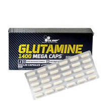 Глютамин L-Glutamine 1400 mega caps 1 блистер (30 caps)