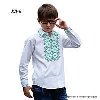 Заготовка рубашки для мальчика под вышивку