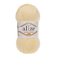 Alize Cotton Baby soft (Ализе Коттон Беби софт) 13 светлый-лимон