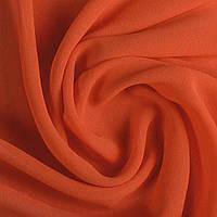 Креп ткань шифон ткань стрейч стрейчевая оранжево красный