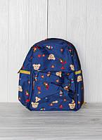 Детский рюкзачок для дошкольником с мишкой