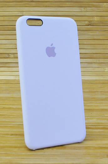 Силиконовый чехол на Айфон, iPhone 6+ \ 6 Plus ORIGINAL ELITE COPY Лаванда