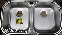 Мойка кухонная врезная из нержавеющей сталиTEKA STYLO 2B микродекор (дефект), фото 1