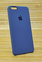 Силиконовый чехол на iPhone 6+ \ 6 Plus ORIGINAL ELITE COPY темно серый