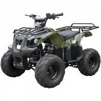 Квадроцикл  SP110-3  (цвет чёрный, синий) / SP110-3 camo (цвет камуфляж)