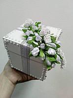 Свадебная коробочка для денег «Жемчужина»