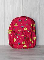 Детский рюкзачок для девочек с мишкой