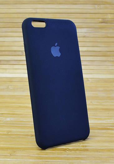 Чехол на Айфон, iPhone 6+ \ 6 Plus силиконовый ORIGINAL ELITE COPY черный
