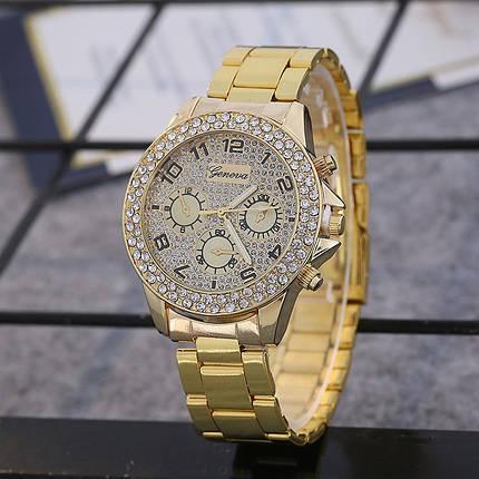 Часы женские Geneva Star 092-1 Цвет: золото, фото 2