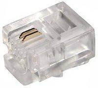 Разъем для телефонного кабеля 6Р2С