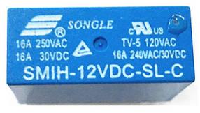 Реле SMIH-12VDC-SL-C 16A