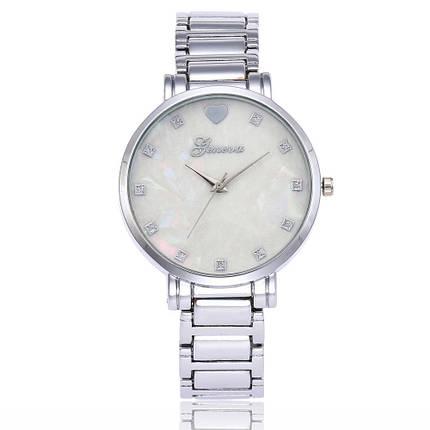Часы женские Geneva Серебристые 116-1, фото 2