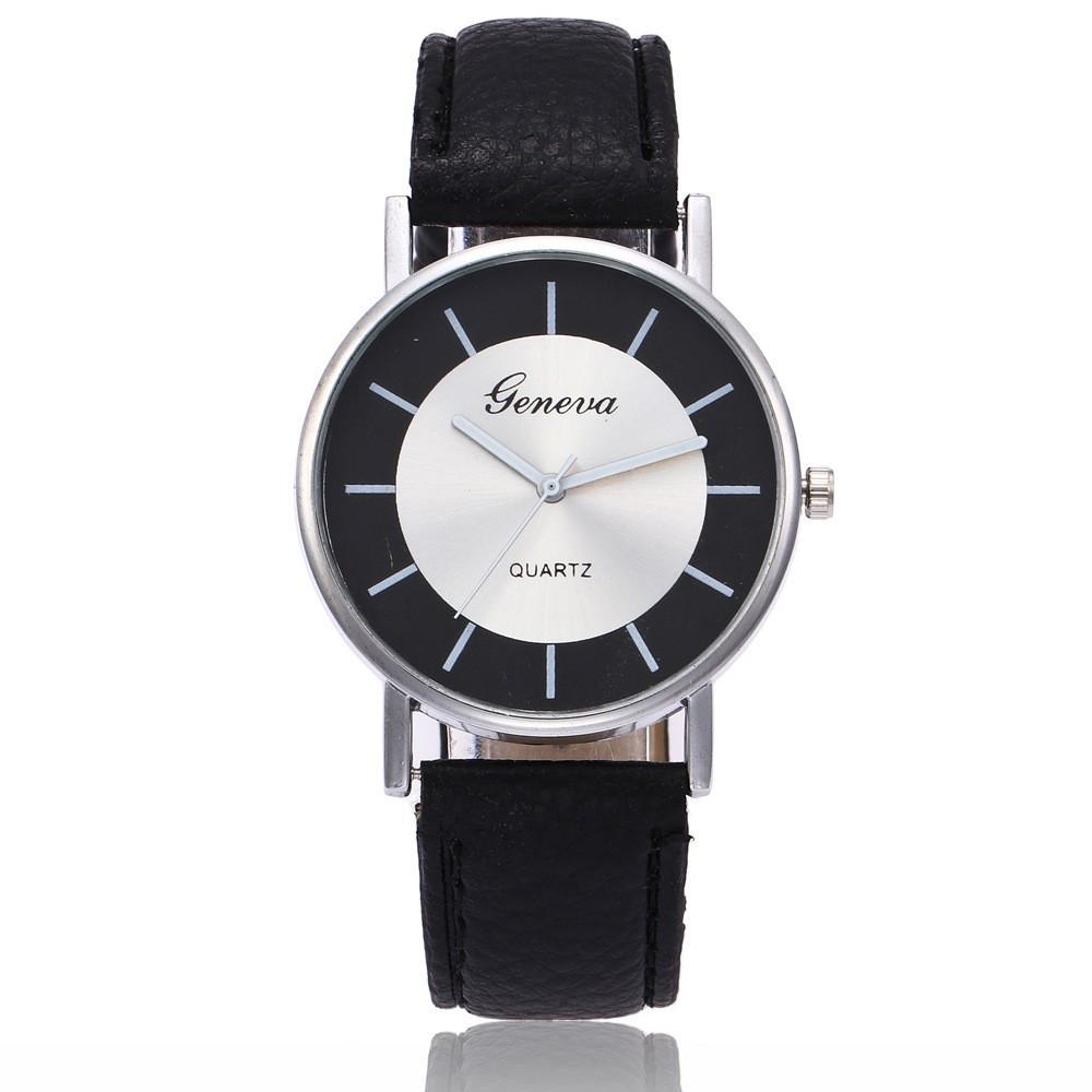 Часы женские Geneva Черные 115-1