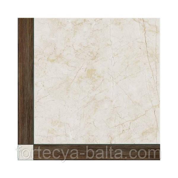 Керамическая плитка Cerrad Шато светло-коричневая  43х43 см цена за 1 плитку